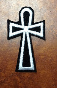 Ankh Cross Patch