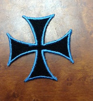 Heraldry Cross Patch