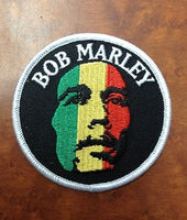 Bob Marley Rasta Patch