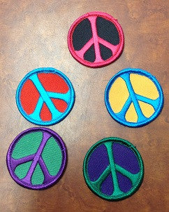 Assorted Peace Sign Patches