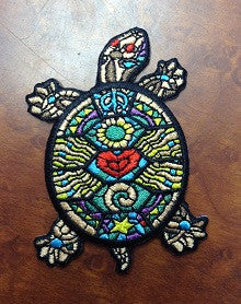 Stained Glass Turtle Patch