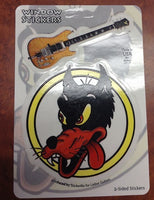Jerry's Wolf Guitar sticker