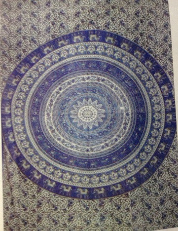 Elephant Circles Tapestry