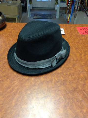 Black Stripe Fedora