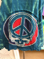 Steal Your Face Peace Tie Dye Halter