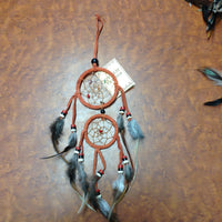 Double Circle Mini Dream Catcher
