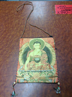 Buddha Silky Passport Bag