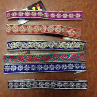 Thin Embroidered Head Band