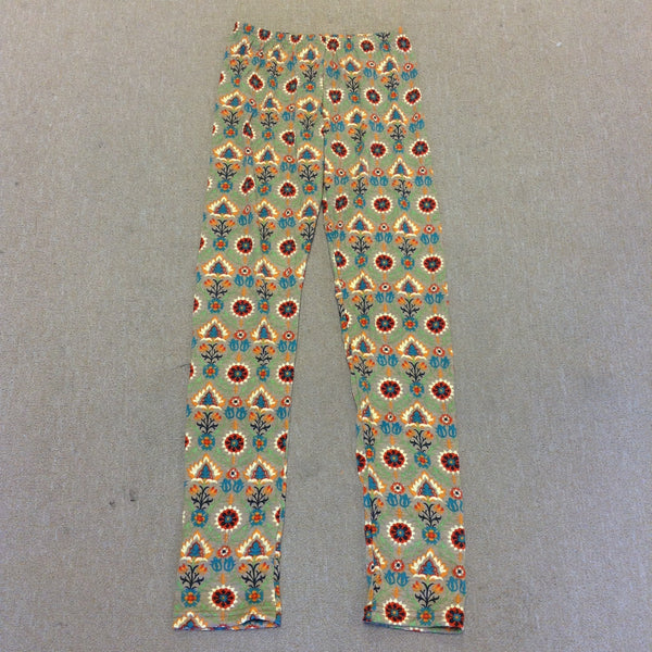 Womens Lyrca Print Leggings