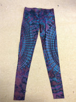 Tie-dye Spandex Womens Leggings