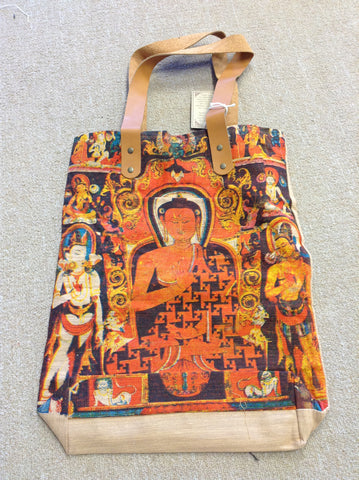 Cotton Bag With Buddha
