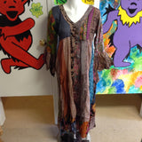 Women's Patchwork Cover-Up Dress