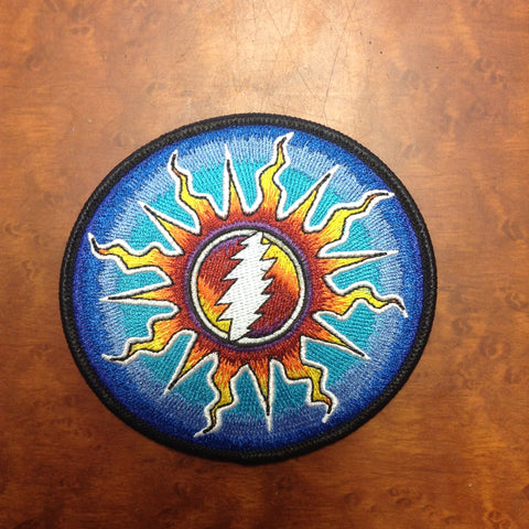 Grateful Dead Sunshine Daydream Iron-On Patch