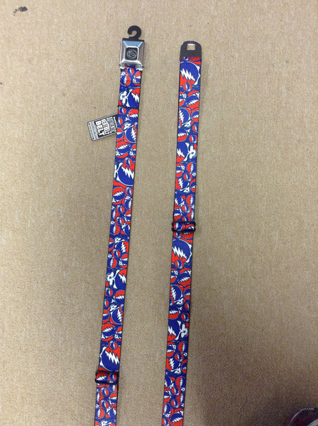 Grateful Dead SYF Collage Seatbelt Buckle Belt