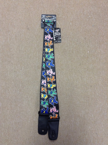 Dancing Bear Guitar Strap
