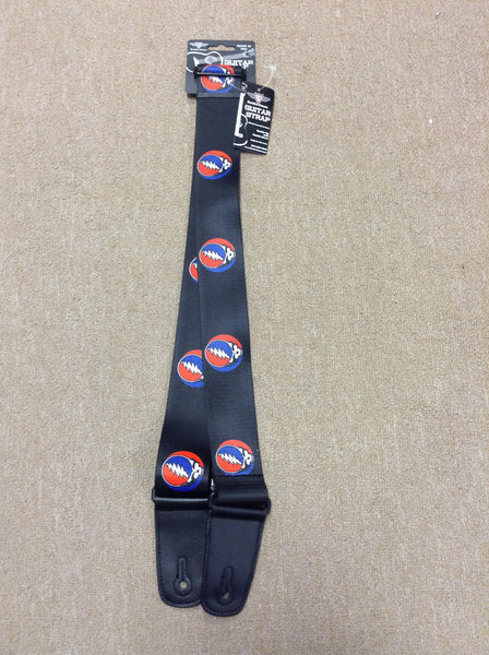 Steal Your Face Guitar Strap