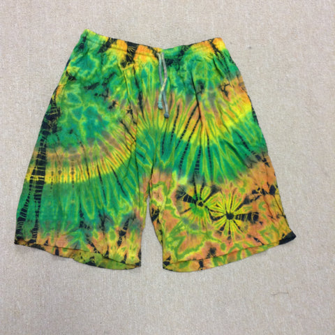 Men's Drawstring Tie Dye Shorts