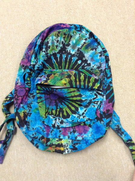 Electric Forest Tie Dye Backpack