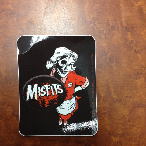 Misfits marilyn sticker