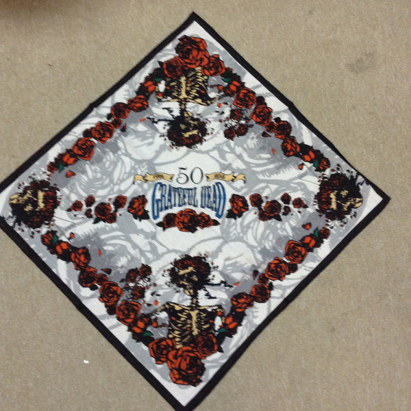 DISCONTINUED Grateful Dead 50th Anniversary Bandana