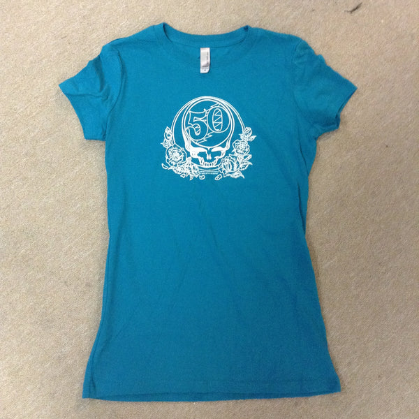Grateful Dead 50th Anniversary Simple Womens T-shirt