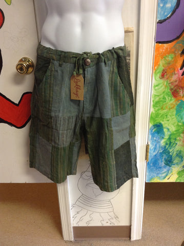 Men's Patchwork Town Shorts