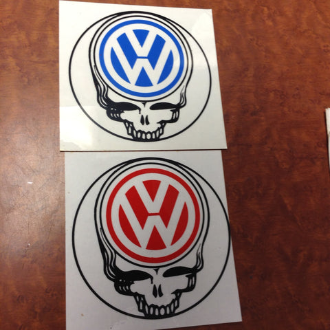 Steal Your VW Sticker