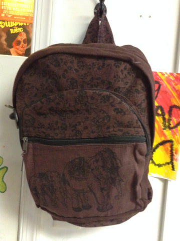 Cotton Elephant Backpack