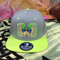 Inca Peacock Snap Back Hat