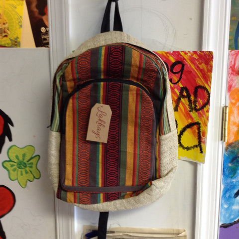 Colorful Weaving Fun Backpack