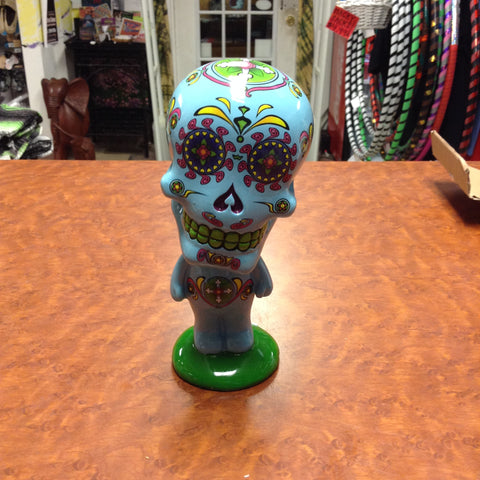 Sugar Skull Bobble Head