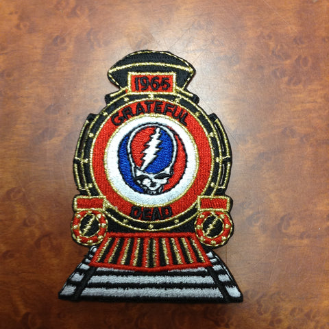 Grateful Dead '65 Train Patch