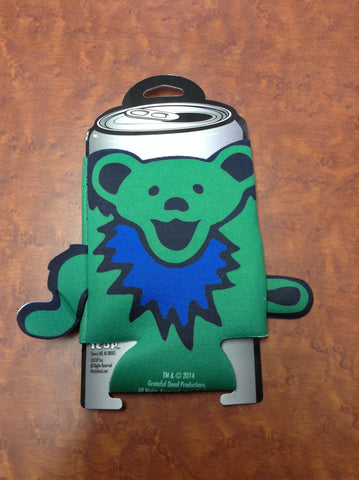 Grateful Dead Bear Diecut Arms Can Koozie