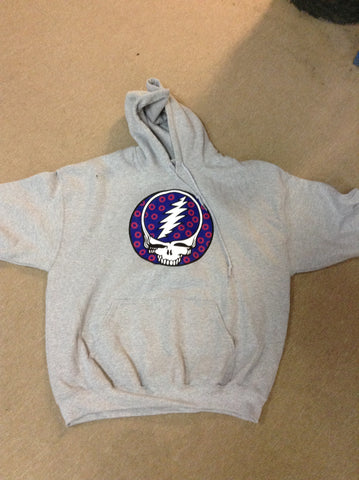 Grateful Dead Phish Grey Hoodie