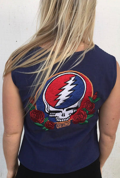 Grateful Dead SYF Button Up Vest