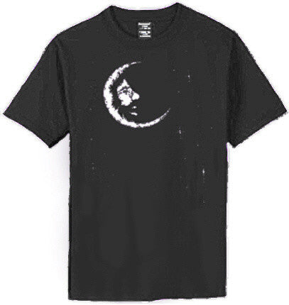 Jerry Garcia Band Jerry Moon Black T-shirt
