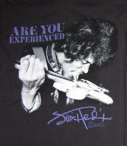 Jimi Hendrix Are You Experienced Guitar T-Shirt