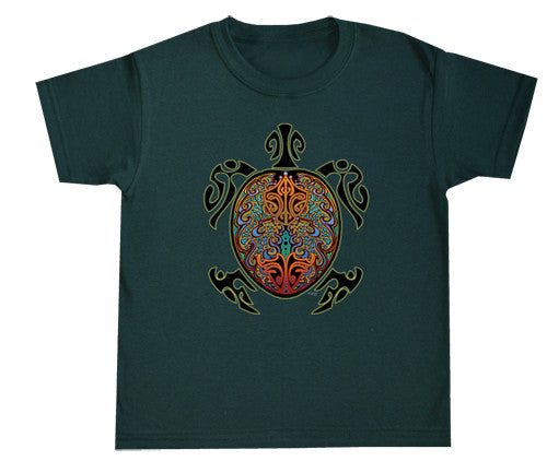 Celtic Sea Turtle Youth T Shirt