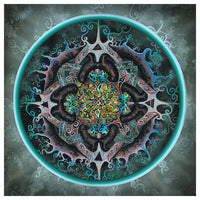 Alchemical Mandala Mike DuBois Art Print