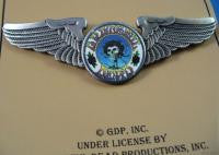 Large Bertha Winged Hat Pin