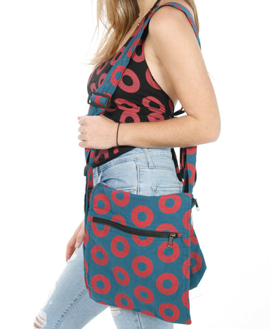 Cotton Donut Phish Square Shoulder Bag
