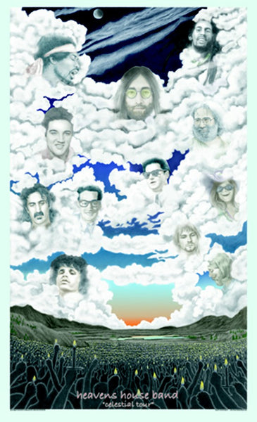 Heaven's House Band Poster