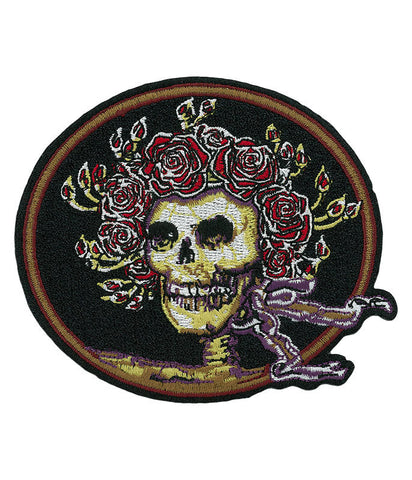 Grateful Dead Skull & Roses Patch