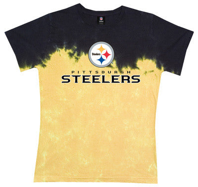 Steelers Banded Logo Ladies T-Shirt