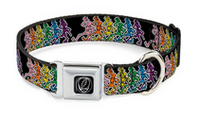 Assorted Grateful Dead Large Breed Wide Dog Collars