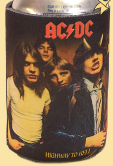 AC/DC Highway to Hell Koozie