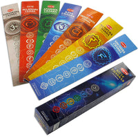 Seven Chakras Incense Pack