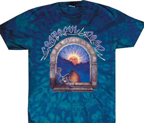 Grateful Dead Lute Player Tie Dye T-shirt