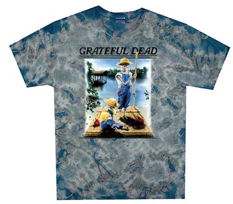Grateful Dead Tom Sawyer Tie Dye T-shirt