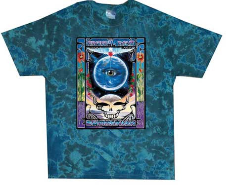 Grateful Dead Eyes of The World Tie Dye T-Shirt